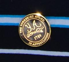 The badge representing the Yorkshire Award